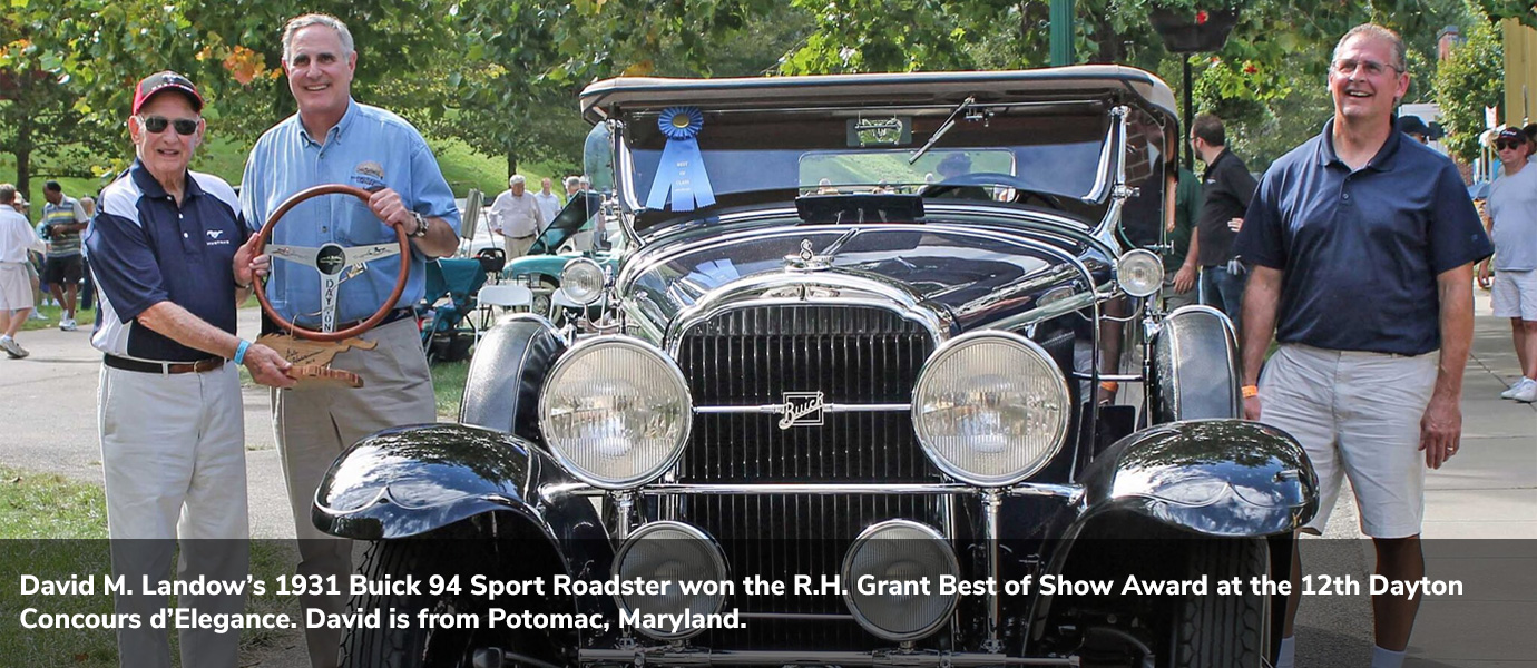 Dayton Concours d'Elegance 2018 Best of Show